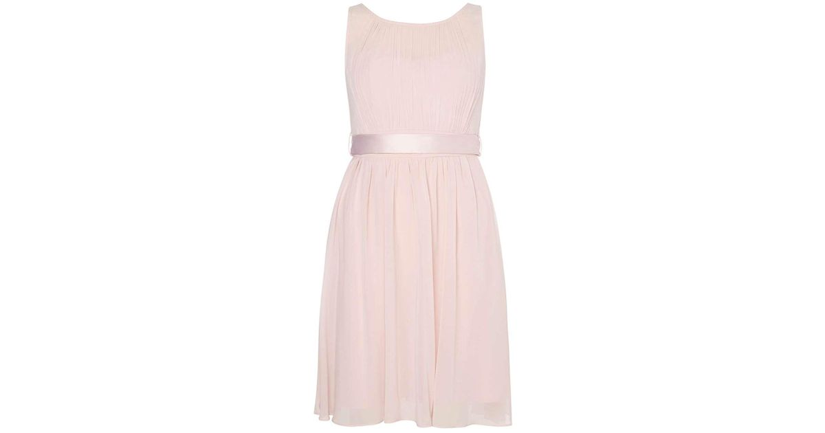 2bf96cb03 Dorothy Perkins Showcase Bridesmaids Blush 'beth' Prom Dress in Pink - Lyst