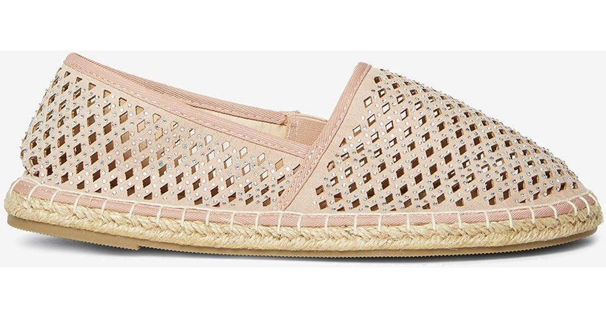 Dorothy Perkins Wide Fit WIDE FIT COSMO - Espadrilles - nude dsaWGN3Y