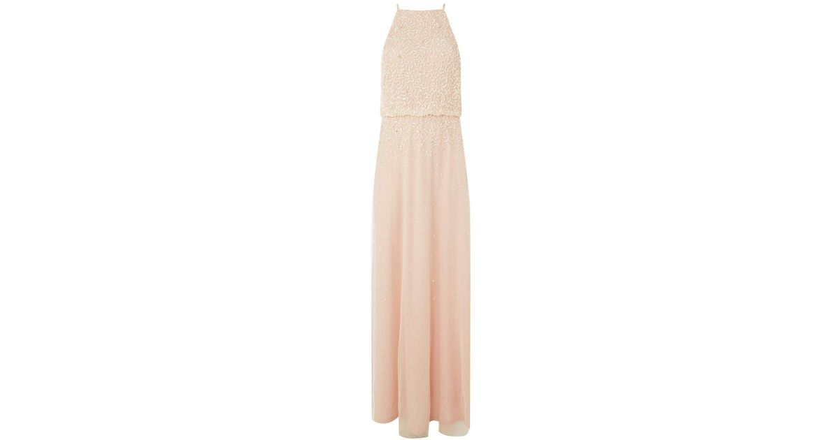 8a286d0bc1391 Dorothy Perkins Showcase Blush 'ava' Maxi Dress in Pink - Lyst