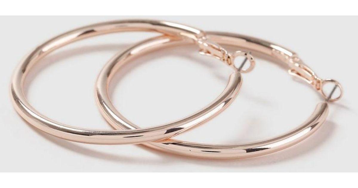 d8d2354a2 Rose Gold Hoop Earrings Thick - Best All Earring Photos Kamilmaciol.Com
