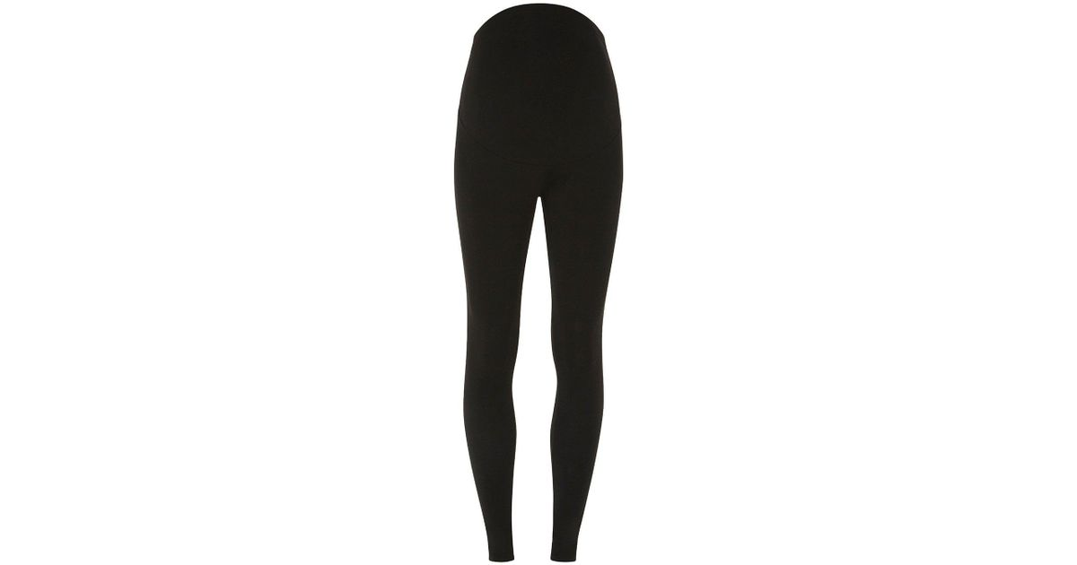 54f775a3eddfe3 Dorothy Perkins Maternity Black Overbump Leggings in Black - Lyst