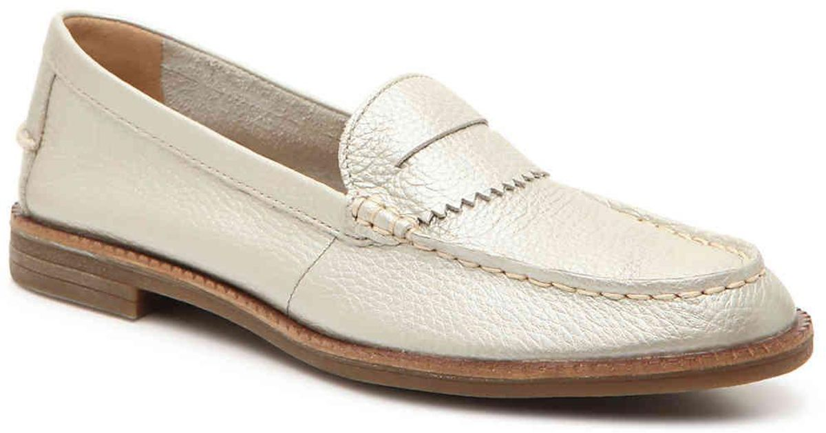 e26c8bebed6 Lyst - Sperry Top-Sider Waypoint Penny Loafer in Metallic