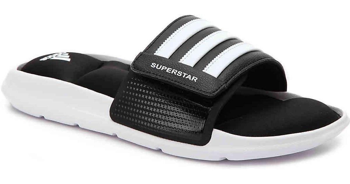 af777188800 Lyst - adidas Superstar 5g Slide Sandal in Black for Men