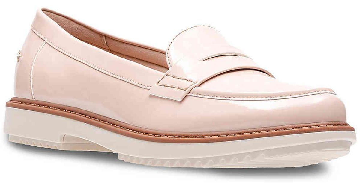 f58486cb317 Lyst - Clarks Raise Eletta Loafer in Pink