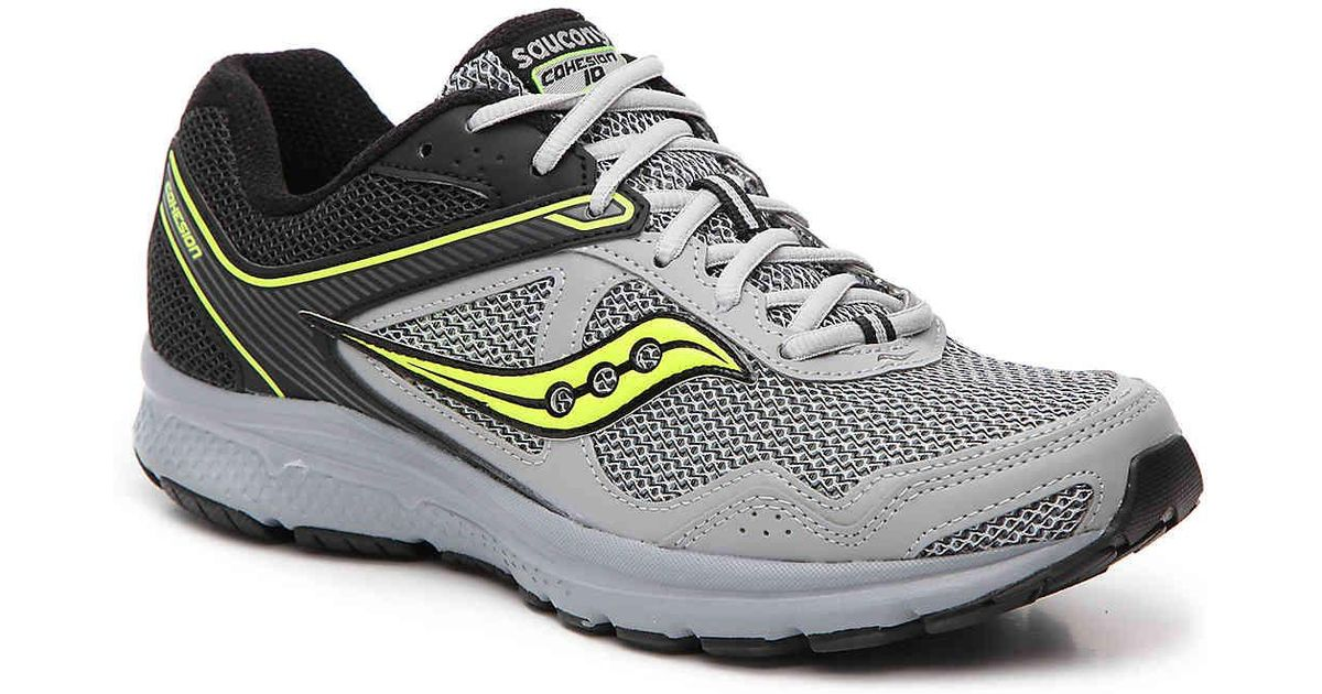 Running Cohesion Lyst Shoe Saucony In For 10 Lightweight Grid Gray Men Y76gfyb