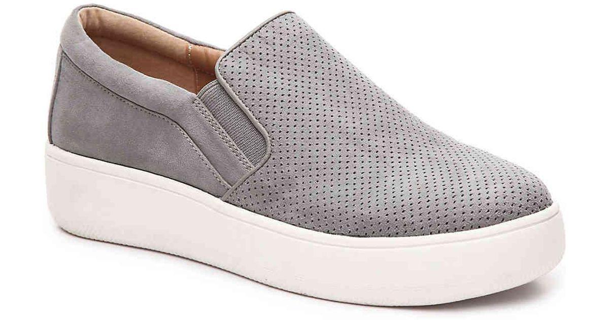 2325b2421d1 Lyst - Steve Madden Genette Platform Sneaker in Gray