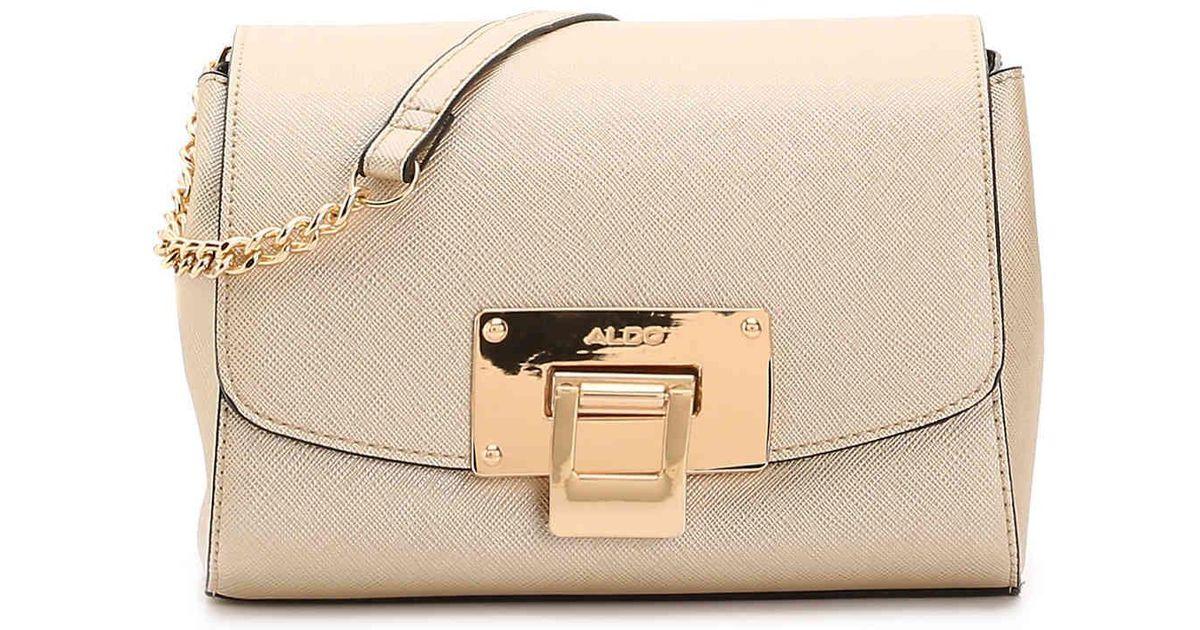 e0eb4fc75ad ALDO Rotella Crossbody Bag in Metallic - Lyst