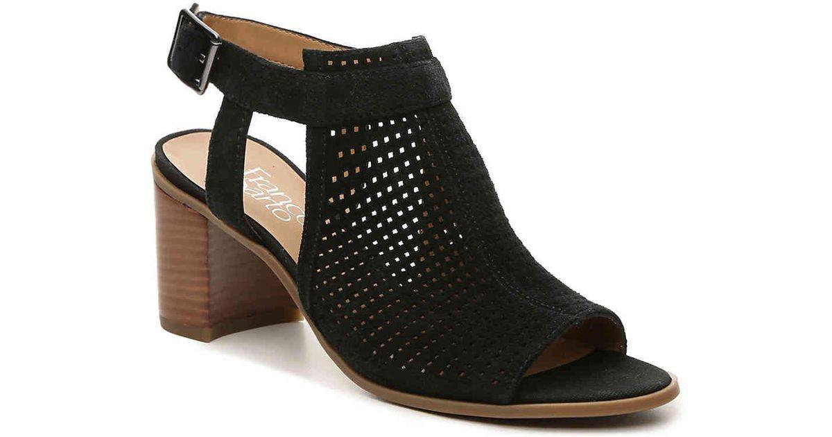 36136bbfd29 Lyst - Franco Sarto Harlet 2 Sandal in Black