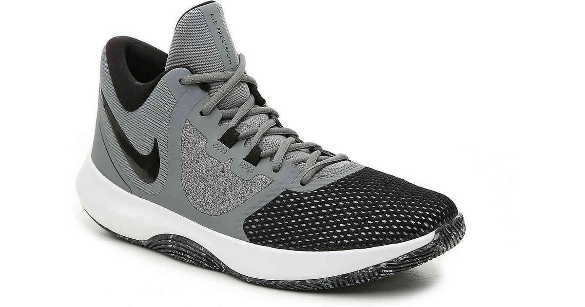 sale retailer b6c6d 9199c Lyst - Nike Air Precision Ii Basketball Shoe in Gray for Men