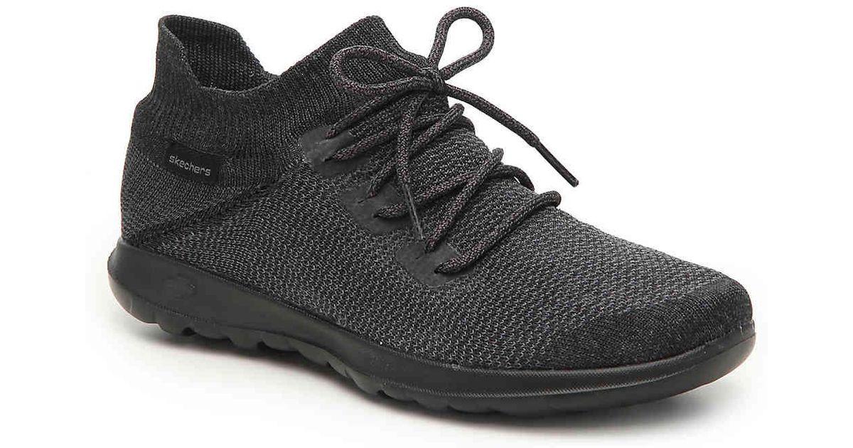 fcd3a1d6aaa38d Lyst - Skechers Ultrasock Mid-top Sneaker in Black