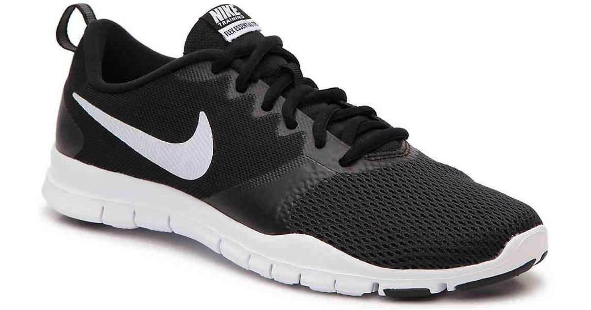 f3a8ce51930 Lyst - Nike Flex Essential Tr Lightweight Training Shoe in Black