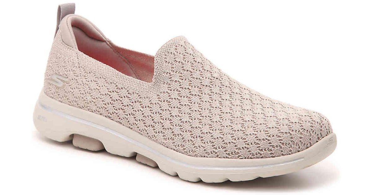43da77f2 Skechers Gowalk 5 Brave Slip-on Sneaker - Lyst