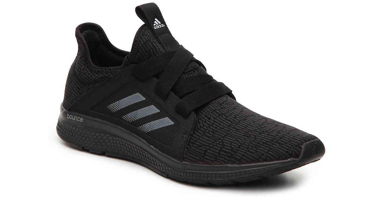 new style 61b40 6bac6 Lyst - adidas Edge Bounce Lightweight Running Shoe in Black
