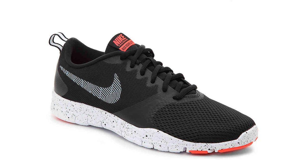 b15821b1b08d Lyst - Nike Flex Essential Tr Lightweight Training Shoe in Black