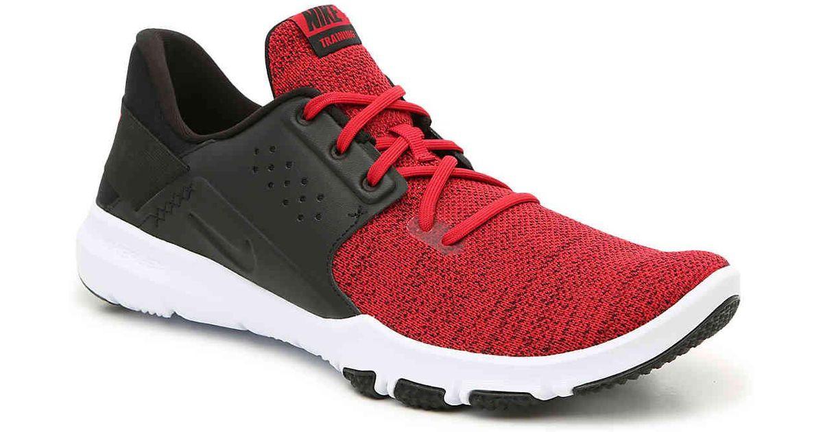 f0ed6a438ba0f Lyst - Nike Flex Control Tr 3 Training Shoe in Red for Men