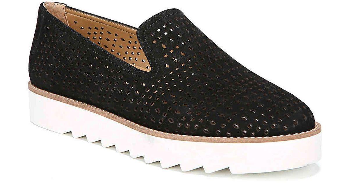 781ccdfb4583 Lyst - Franco Sarto Florie Platform Loafer in Black