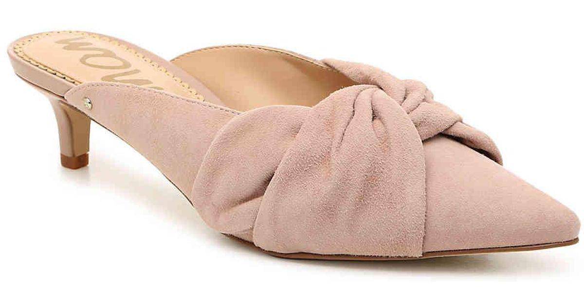 9cf126607a5 Lyst - Sam Edelman Laney Mule in Pink