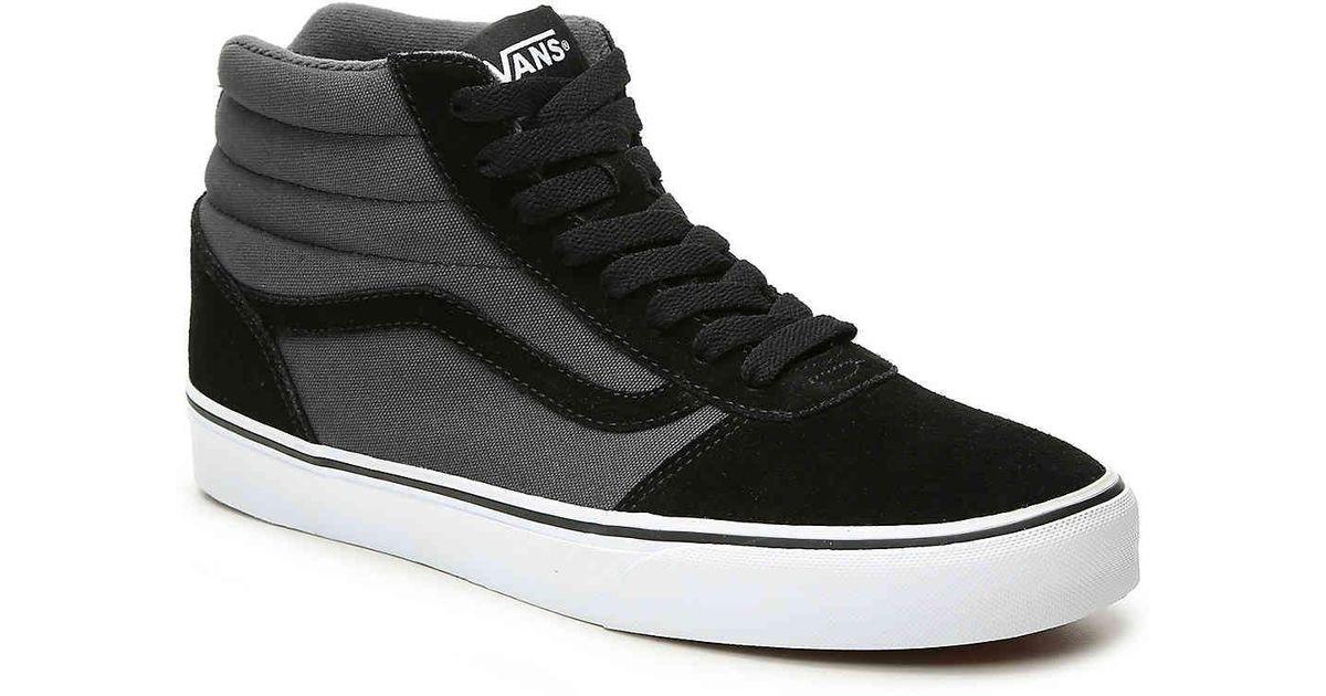 1f42707fc8c50e Lyst - Vans Ward Hi High-top Sneaker in Black for Men