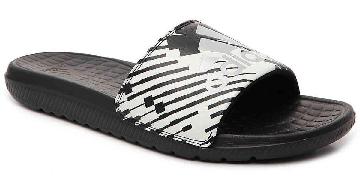 brand new 57473 71855 Lyst - adidas Voloomix Gr Slide Sandal in Black for Men
