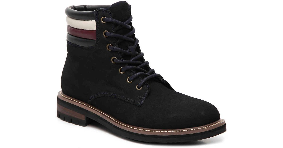24845b8b43773a Lyst - Tommy Hilfiger Halle Boot in Black for Men