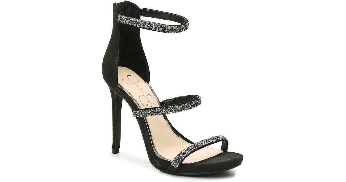 b9fbbc33b1a3 Lyst - Jessica Simpson Rennia Platform Sandal in Black