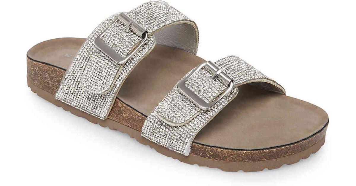 800fe300f5d8 Lyst - Madden Girl Brando Sandal in Metallic