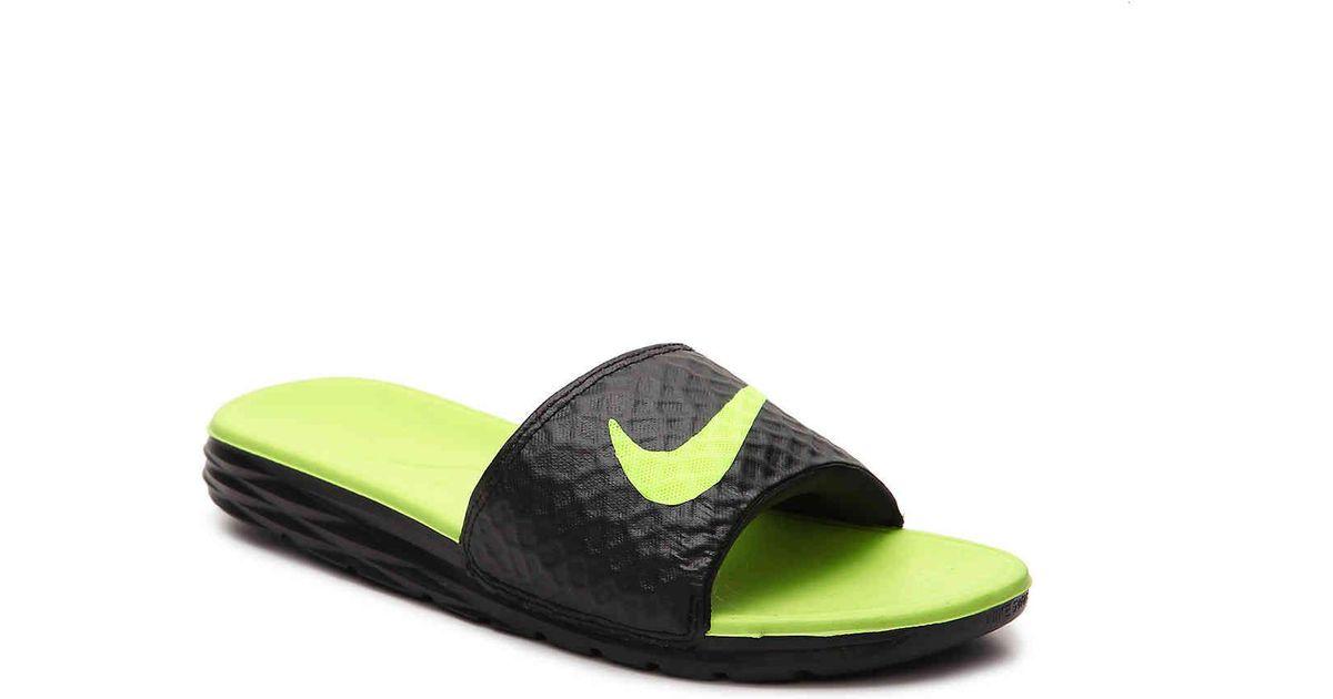 b9b5a1d42c34 Lyst - Nike  benassi Solarsoft 2  Slide Sandal for Men