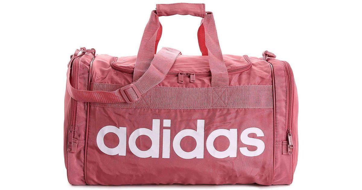Lyst - adidas Santiago Gym Bag in Pink faba396b4d889