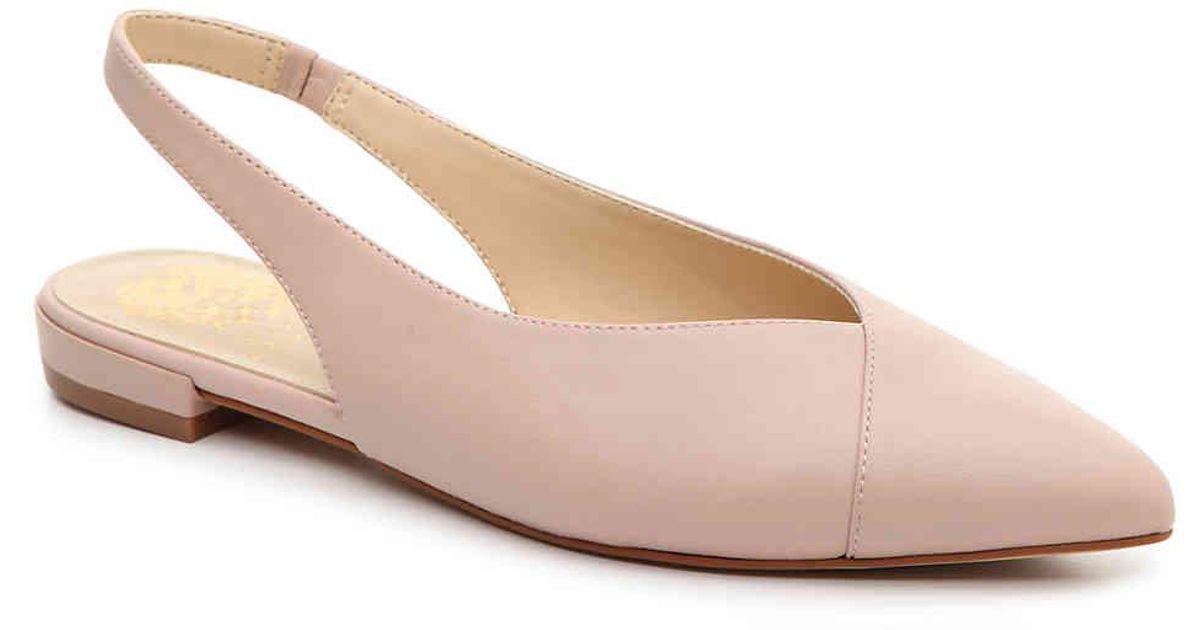 9ada93afb29 Lyst - Vince Camuto Jasenia Flat in Pink