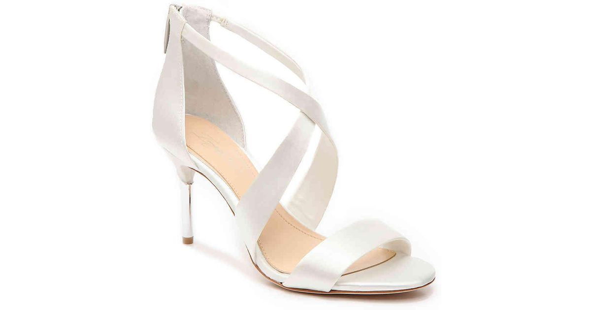 eaf7b23aee86 Lyst - Imagine Vince Camuto Pascal Sandal in White