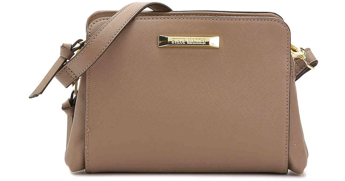 8f3e49d7238 Lyst - Steve Madden Blannis Crossbody Bag in Brown