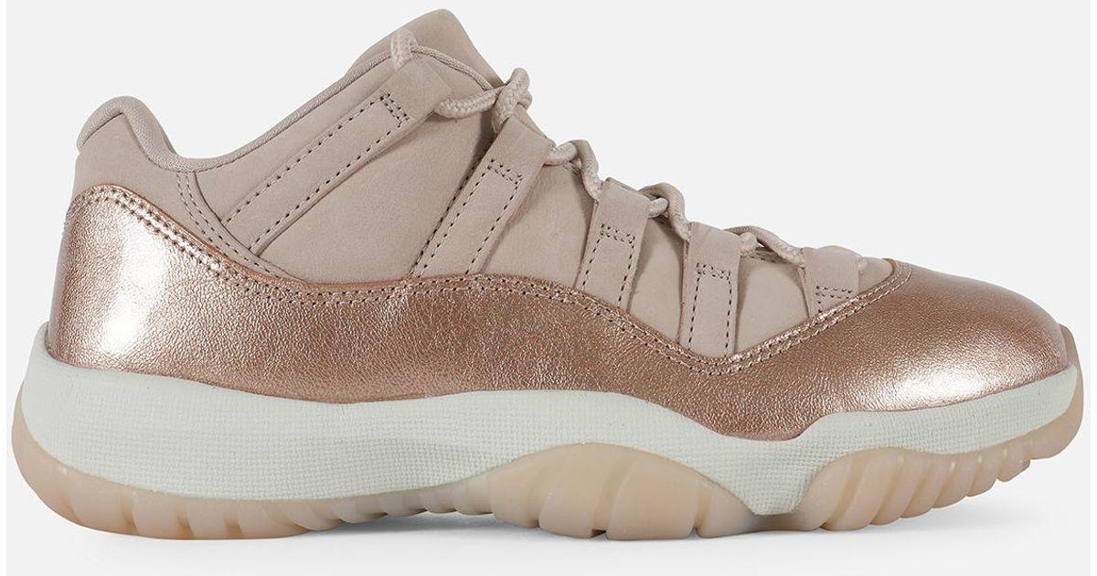 info for 3c706 fd1d1 Jordan - Pink Wmns Air Retro 11 Low 'rose Gold' - Lyst