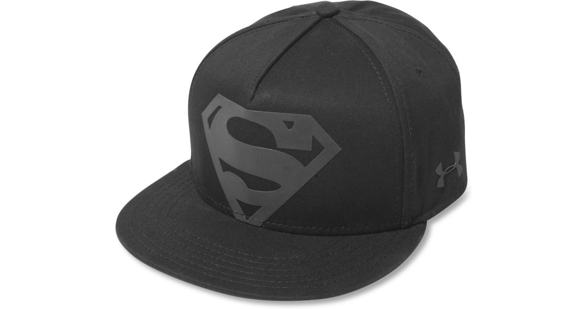 f5e9925baff ... coupon under armour batman reflective hat lyst lyst under armour  superman reflective hat in black for