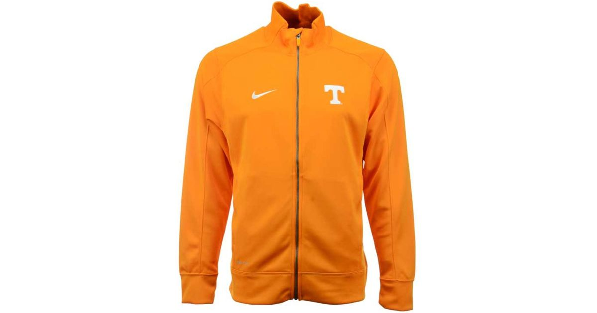 Lyst - Nike Men's Tennessee Volunteers Stadium Classic Track Jacket in  Orange for Men