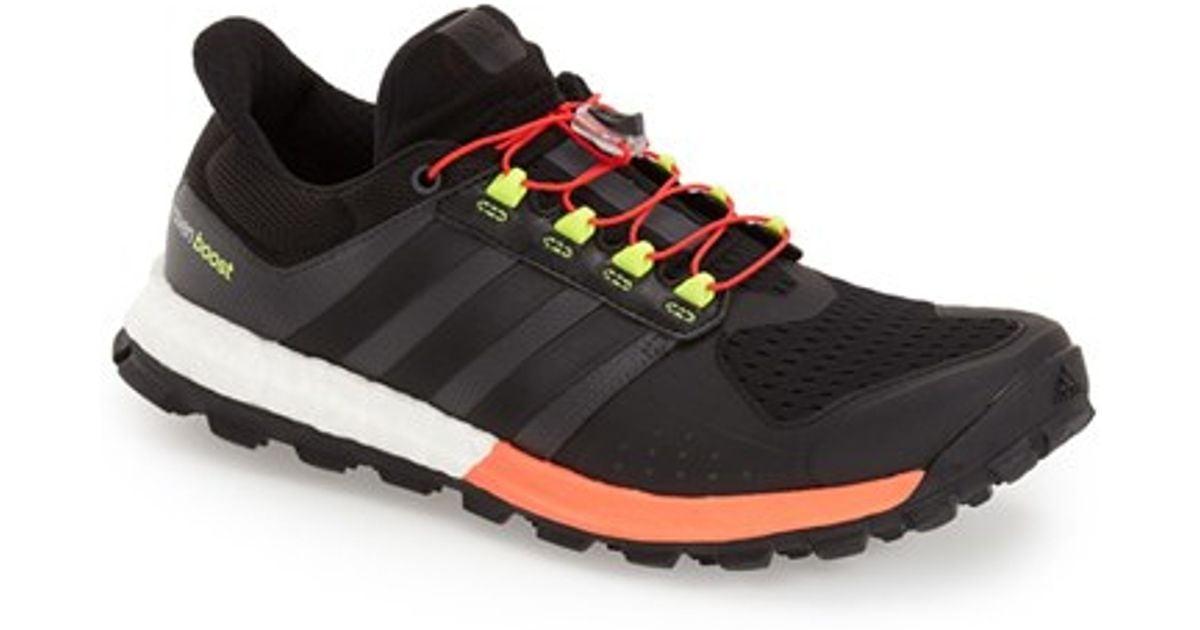 b9423c2738221 Lyst Adidas Adistar Raven Boost Trail Running Shoe In Black For Men
