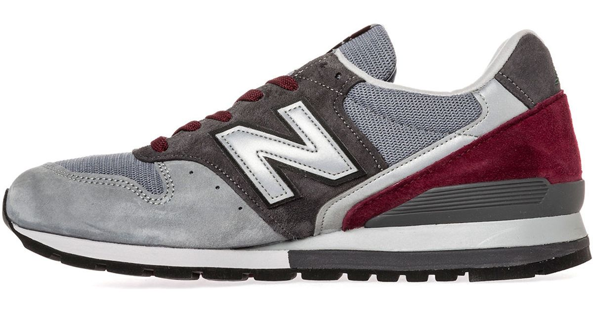 huge discount ac8e7 df7a9 Lyst - New Balance The Made Usa Connoisseur Collection American Painters 996  Sneaker in Gray for Men