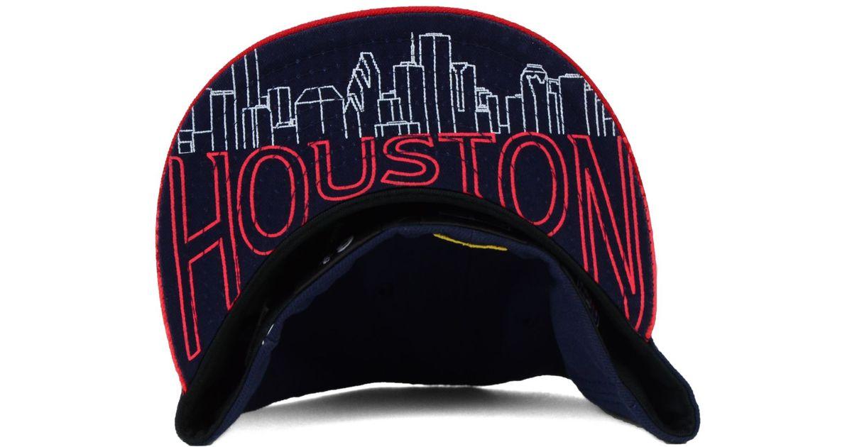 brand new 5a89b 6f931 Lyst - KTZ Kids  Houston Texans 2015 Nfl Draft 59fifty Cap in Blue