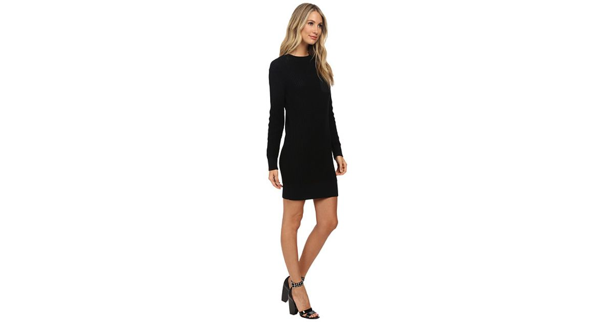 35a91cf41f4 Lyst - Marc By Marc Jacobs Pima Silk Sweater Dress in Black
