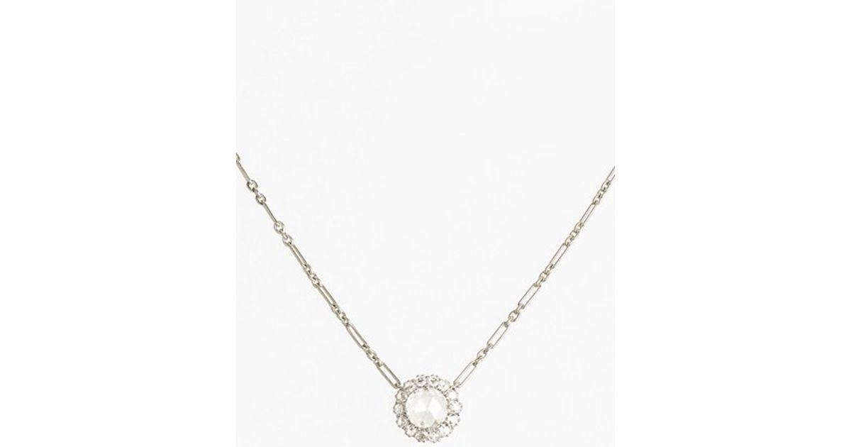 Lyst - Kwiat  vintage  Diamond Pendant Necklace in Metallic f840b96b30