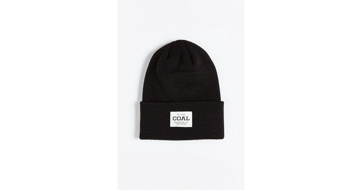 096a5d19406 Lyst - Coal The Uniform Beanie in Black for Men