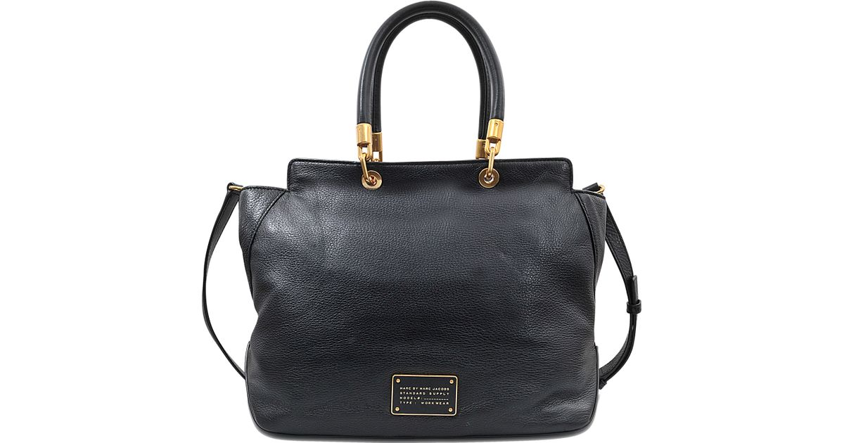 719f339abec8 Marc By Marc Jacobs New Too Hot To Handle Bentley Bag in Black - Lyst