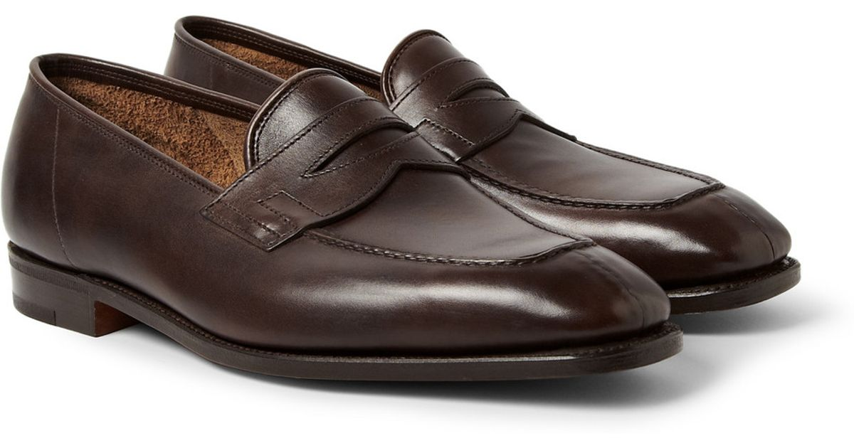 outlet best wholesale outlet fashion Style John Lobb classic loafers 4lVVprf8HR