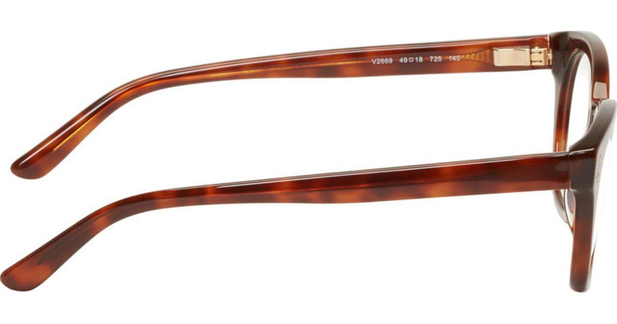 e364f375ef Lyst - Valentino Brown Tortoiseshell V2669 Optical Glasses in Brown for Men