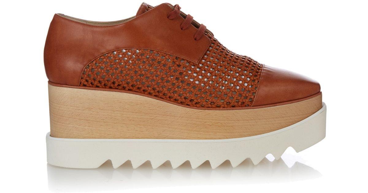 Stella McCartney Woven platform sandals
