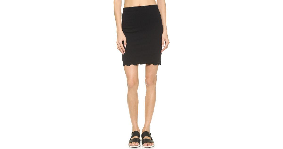 Lyst - Marysia Swim Montauk Scallop Skirt - White in Black bd4cd2e9d2