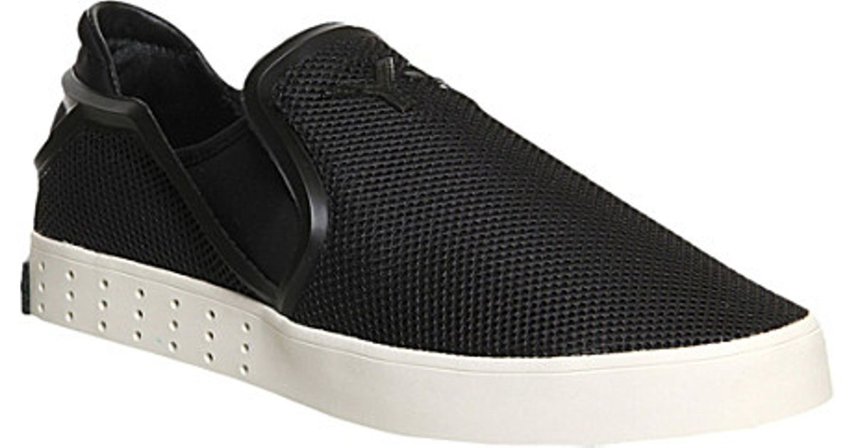 12f9a86aabe6c adidas Y3 Laver Slip-On Shoes - For Men in Black for Men - Lyst