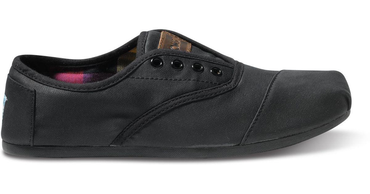 5cb4e0b4004 Lyst - TOMS Black Twill Men s Cordones in Black for Men