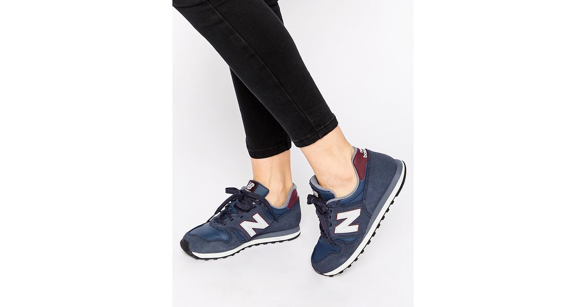 new balance women 373 navy silver