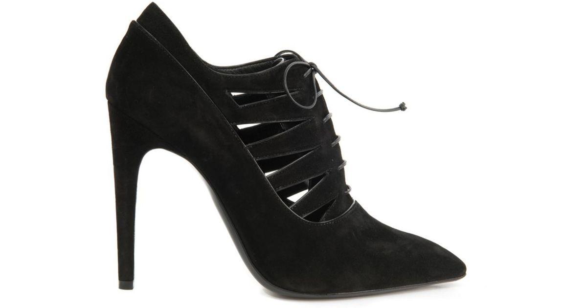 cheap comfortable Bottega Veneta Cutout Leather Booties free shipping visit new order sale online JAPzWQ2Gg
