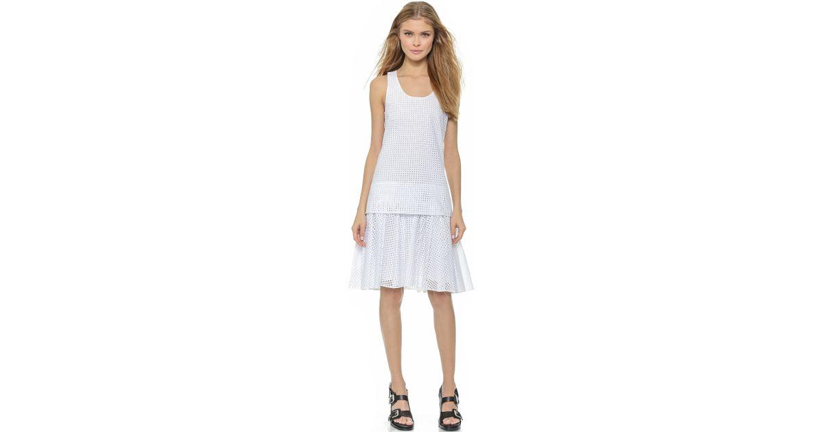 c431ed1198 Rag & Bone Lakewood Dress - Bright White in White - Lyst